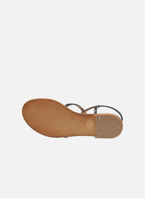 Sandals Les Tropéziennes par M Belarbi Balise Black view from above