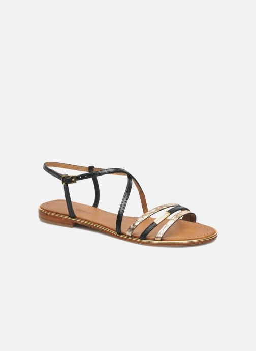 Sandals Les Tropéziennes par M Belarbi Balise Black detailed view/ Pair view