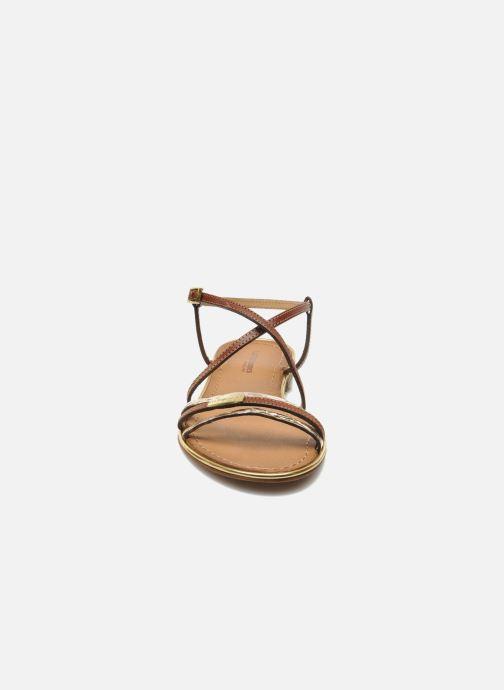 Sandalen Les Tropéziennes par M Belarbi Balise braun schuhe getragen