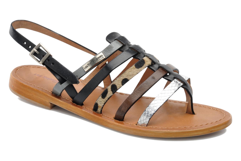 Sandales et nu-pieds Les Tropéziennes par M Belarbi Harpe Multicolore vue détail/paire