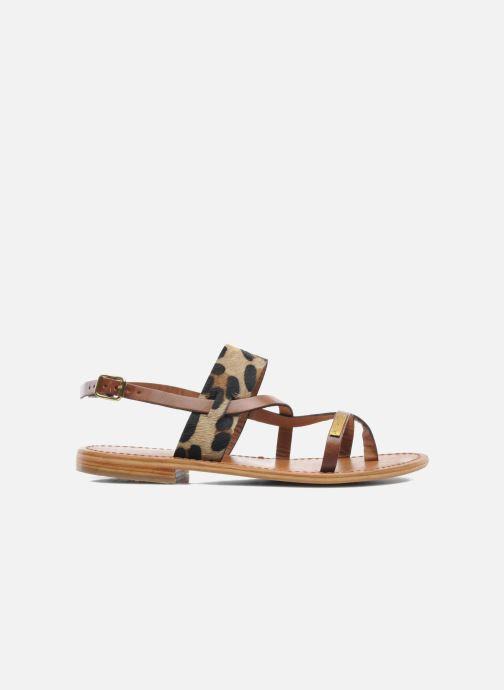Sandals Les Tropéziennes par M Belarbi Baule Brown back view
