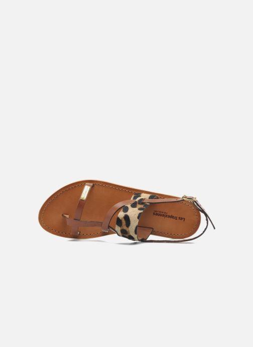 Sandales et nu-pieds Les Tropéziennes par M Belarbi Baule Marron vue gauche