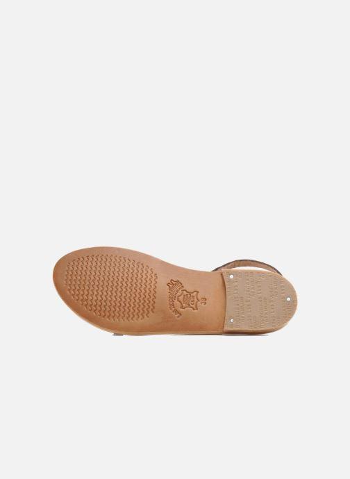 Sandales et nu-pieds Les Tropéziennes par M Belarbi Baule Marron vue haut