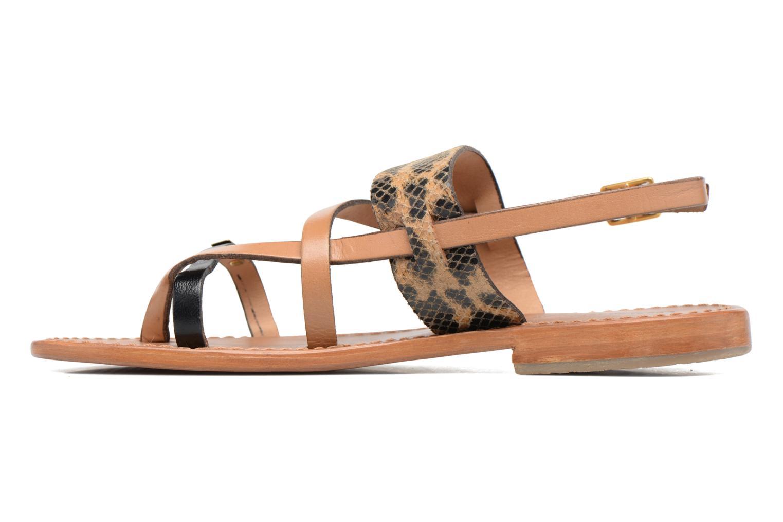 Sandali e scarpe aperte Les Tropéziennes par M Belarbi Baule Beige immagine frontale