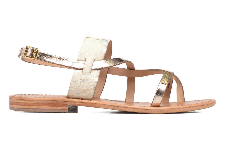 Sandals Les Tropéziennes par M Belarbi Baule Bronze and Gold back view