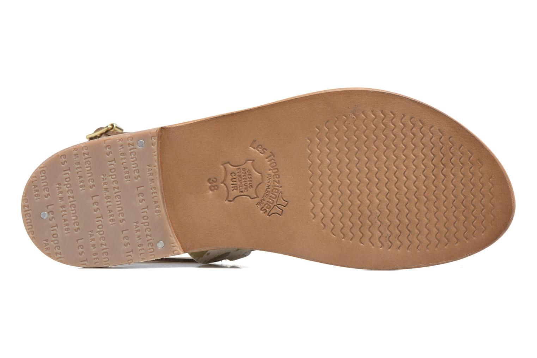 Sandali e scarpe aperte Les Tropéziennes par M Belarbi Baule Oro e bronzo immagine dall'alto