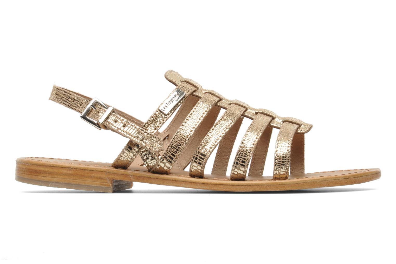 Sandales et nu-pieds Les Tropéziennes par M Belarbi Brillant Or et bronze vue derrière