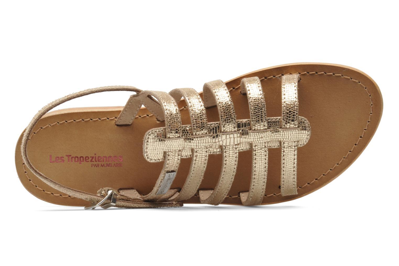 Sandales et nu-pieds Les Tropéziennes par M Belarbi Brillant Or et bronze vue gauche