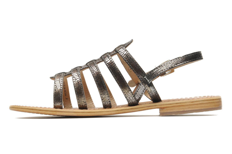 Sandales et nu-pieds Les Tropéziennes par M Belarbi Brillant Argent vue face