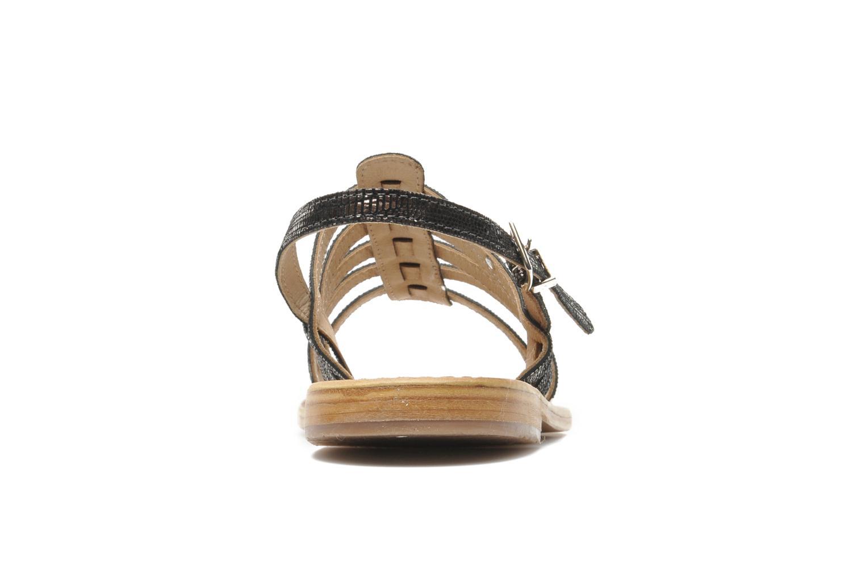 Sandales et nu-pieds Les Tropéziennes par M Belarbi Brillant Argent vue droite