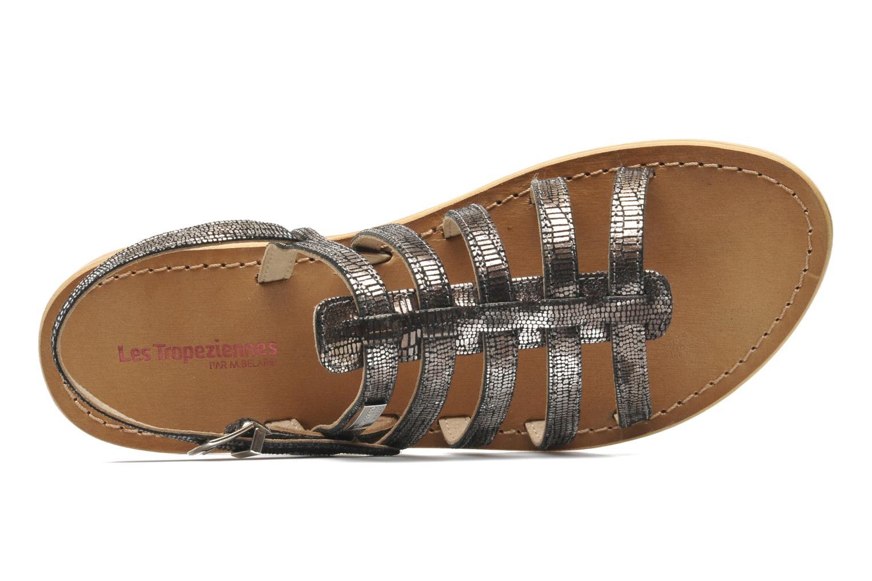 Sandales et nu-pieds Les Tropéziennes par M Belarbi Brillant Argent vue gauche