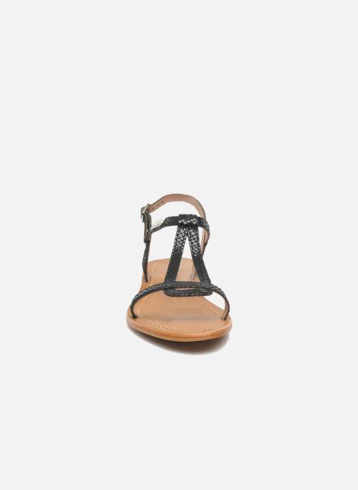 Sandalen Les Tropéziennes par M Belarbi Hamat schwarz schuhe getragen