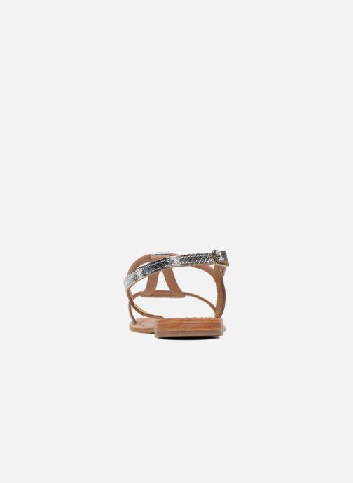 Sandalen Les Tropéziennes par M Belarbi Hamat silber ansicht von rechts
