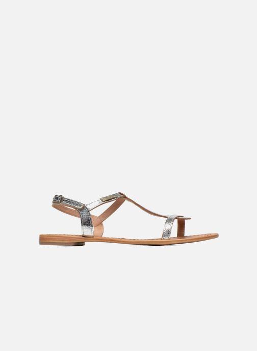 Sandalen Les Tropéziennes par M Belarbi Hamat silber ansicht von hinten