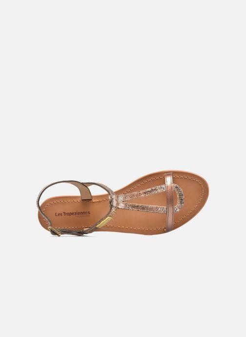 Sandales et nu-pieds Les Tropéziennes par M Belarbi Hamat Or et bronze vue gauche