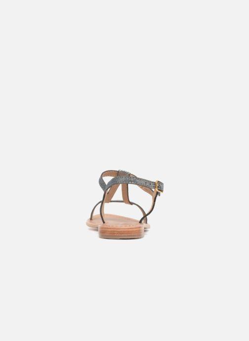 Sandales et nu-pieds Les Tropéziennes par M Belarbi Hamat Bleu vue droite