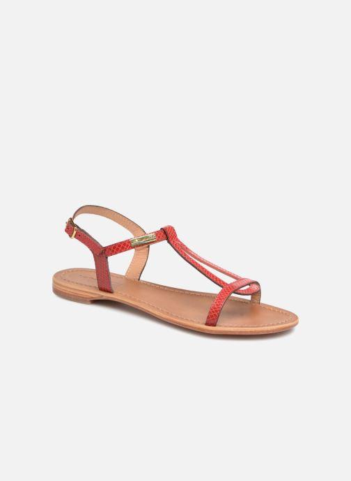 Sandales et nu-pieds Les Tropéziennes par M Belarbi Hamat Rouge vue détail/paire