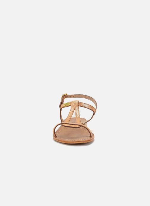 Sandales et nu-pieds Les Tropéziennes par M Belarbi Hamat Orange vue portées chaussures