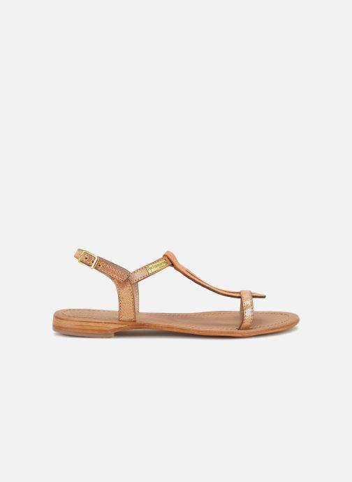 Sandales et nu-pieds Les Tropéziennes par M Belarbi Hamat Orange vue derrière