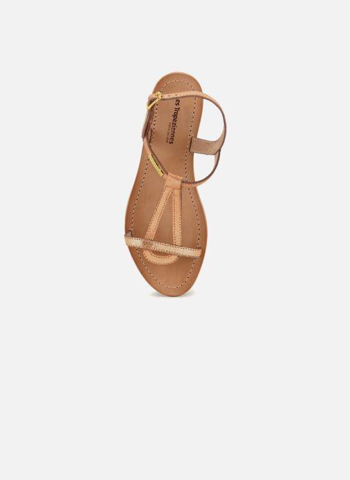 Sandales et nu-pieds Les Tropéziennes par M Belarbi Hamat Orange vue gauche