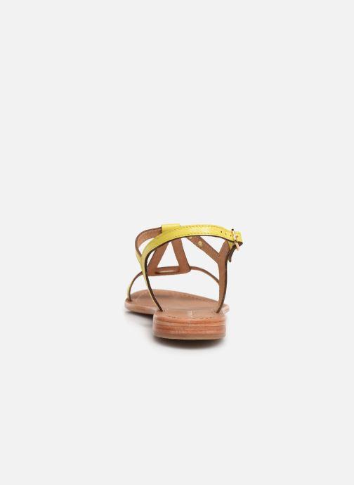 Sandales et nu-pieds Les Tropéziennes par M Belarbi Hamat Jaune vue droite