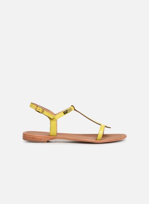 Sandales et nu-pieds Les Tropéziennes par M Belarbi Hamat Jaune vue derrière