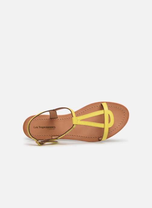 Sandales et nu-pieds Les Tropéziennes par M Belarbi Hamat Jaune vue gauche