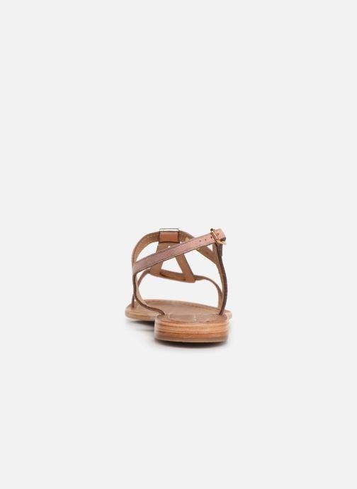 Sandales et nu-pieds Les Tropéziennes par M Belarbi Hamat Rose vue droite