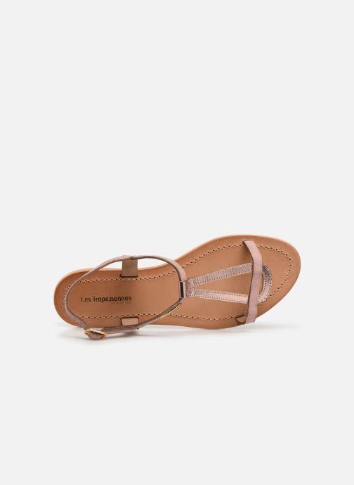 Sandales et nu-pieds Les Tropéziennes par M Belarbi Hamat Rose vue gauche