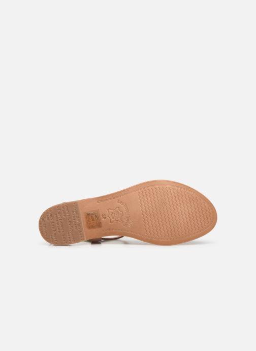 Sandales et nu-pieds Les Tropéziennes par M Belarbi Hamat Rose vue haut