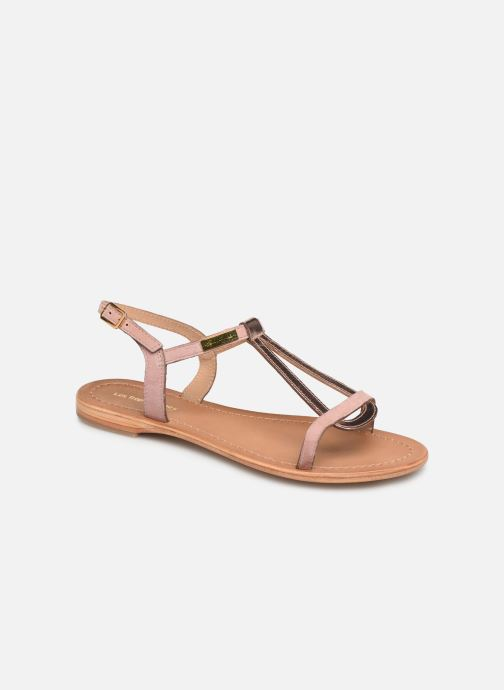 Sandales et nu-pieds Les Tropéziennes par M Belarbi Hamat Rose vue détail/paire