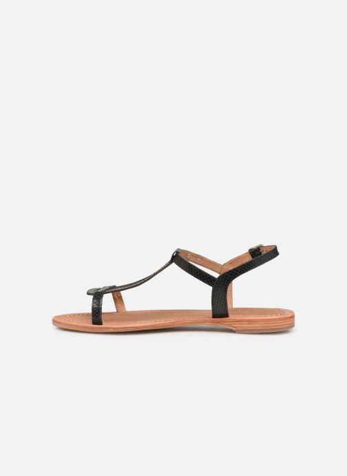 Sandales et nu-pieds Les Tropéziennes par M Belarbi Hamat Noir vue face