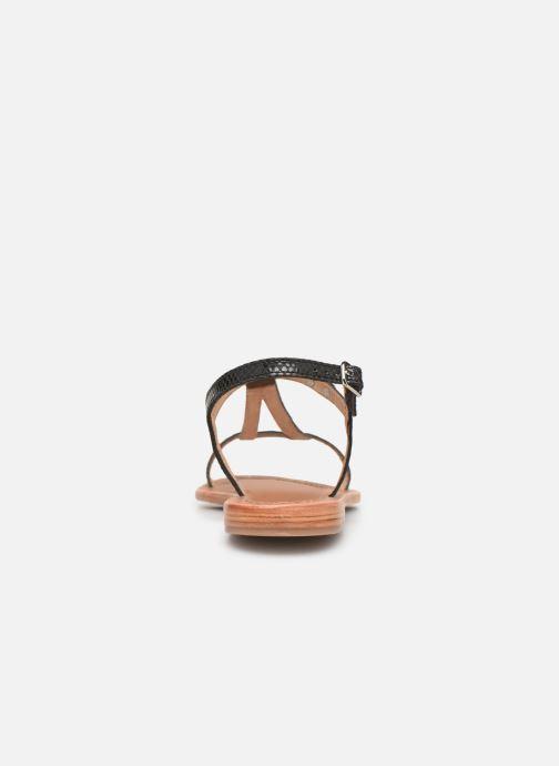 Sandales et nu-pieds Les Tropéziennes par M Belarbi Hamat Noir vue droite