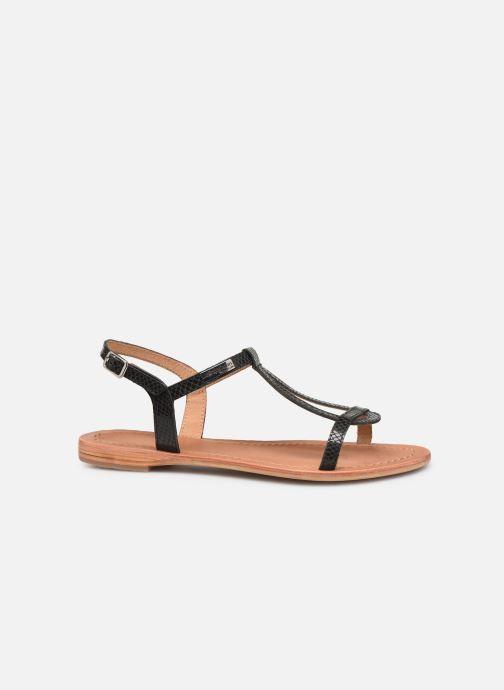 Sandales et nu-pieds Les Tropéziennes par M Belarbi Hamat Noir vue derrière