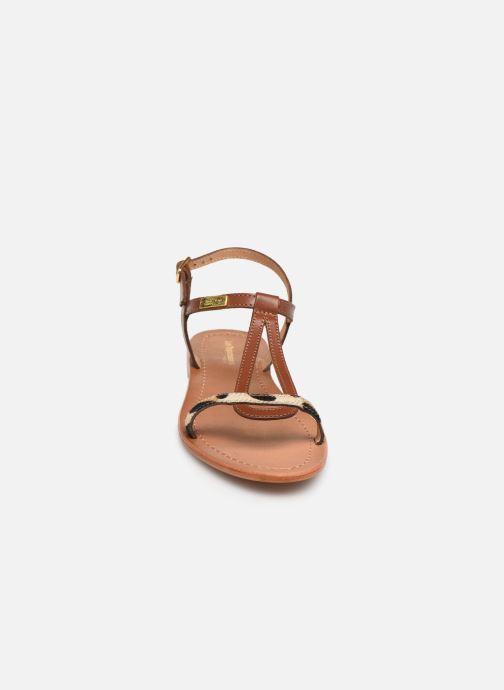 Sandalen Les Tropéziennes par M Belarbi Hamat braun schuhe getragen
