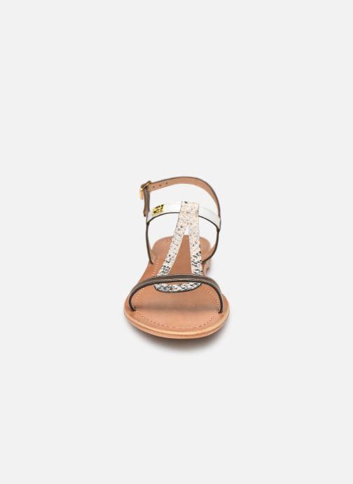 Sandales et nu-pieds Les Tropéziennes par M Belarbi Hamat Blanc vue portées chaussures