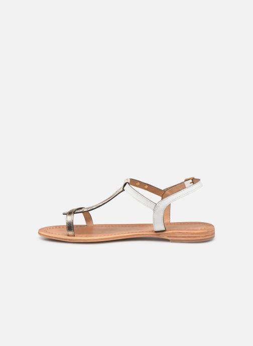 Sandales et nu-pieds Les Tropéziennes par M Belarbi Hamat Blanc vue face