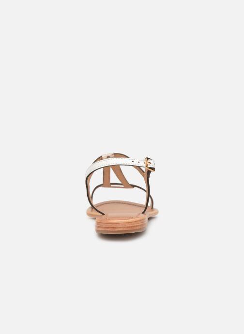 Sandales et nu-pieds Les Tropéziennes par M Belarbi Hamat Blanc vue droite