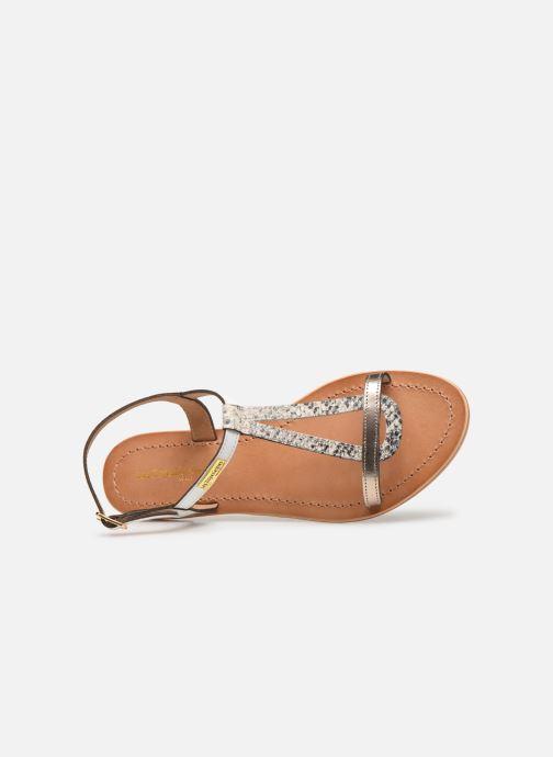 Sandales et nu-pieds Les Tropéziennes par M Belarbi Hamat Blanc vue gauche
