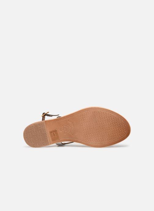 Sandales et nu-pieds Les Tropéziennes par M Belarbi Hamat Blanc vue haut