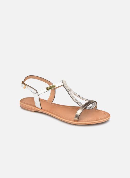 Sandales et nu-pieds Les Tropéziennes par M Belarbi Hamat Blanc vue détail/paire