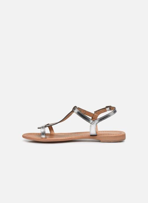 Sandales et nu-pieds Les Tropéziennes par M Belarbi Hamat Argent vue face