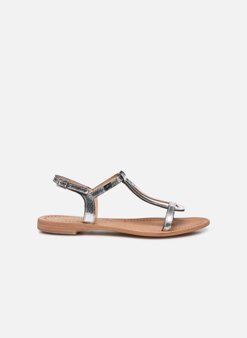Sandales et nu-pieds Les Tropéziennes par M Belarbi Hamat Argent vue derrière