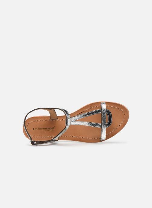 Sandales et nu-pieds Les Tropéziennes par M Belarbi Hamat Argent vue gauche