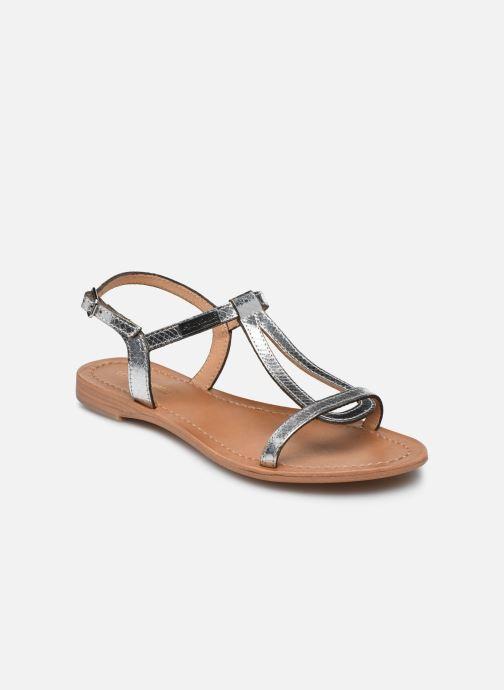 Sandales et nu-pieds Les Tropéziennes par M Belarbi Hamat Argent vue détail/paire