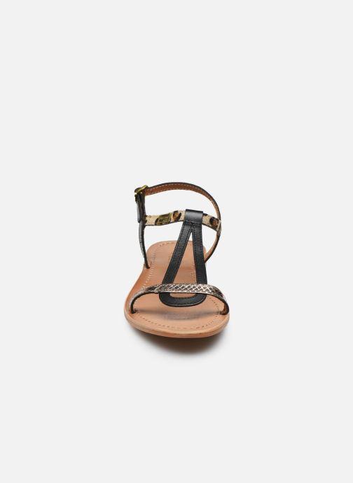Sandalias Les Tropéziennes par M Belarbi Hamat Negro vista del modelo