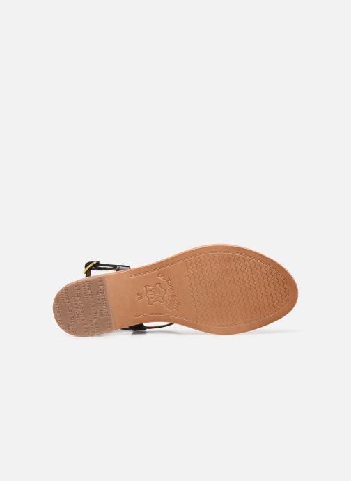 Sandales et nu-pieds Les Tropéziennes par M Belarbi Hamat Noir vue haut