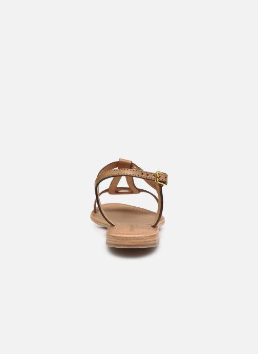 Sandales et nu-pieds Les Tropéziennes par M Belarbi Hamat Marron vue droite