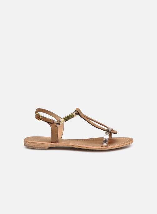 Sandales et nu-pieds Les Tropéziennes par M Belarbi Hamat Marron vue derrière