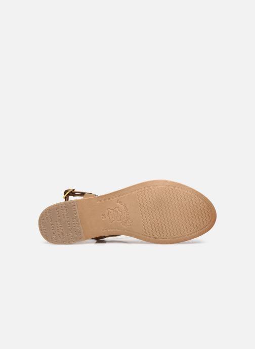 Sandales et nu-pieds Les Tropéziennes par M Belarbi Hamat Marron vue haut